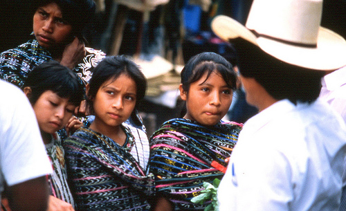 3 girls in Guatemala