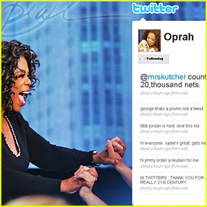 oprah-first-twitter-message