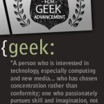 All about Geeks for Good
