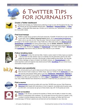 6twitter tips screenshot