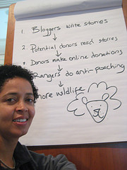 Paula Kahumbu of WildlifeDirect