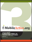 Strategy Guide #3: Using Mobile Phones in Fundraising Campaigns