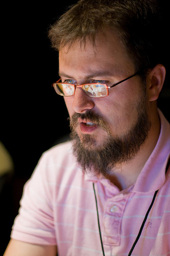 "Marshall Kirkpatrick. (CC) Randy Stewart, <a href=""http://blog.stewtopia.com"">blog.stewtopia.com</a>."