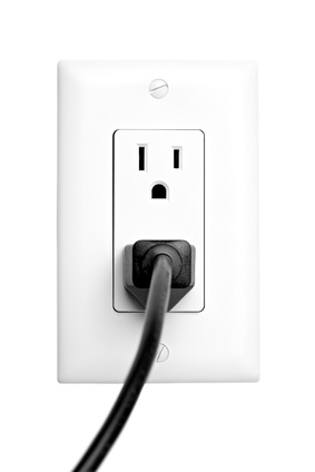 power outlet isolated