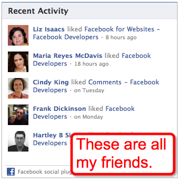 facebook-recent-activity