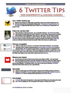 6 Twitter tips