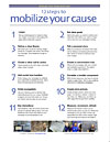 12 steps to mobilize your cause
