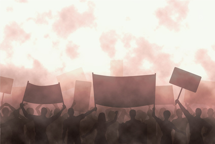 Angry protest - Fotolia