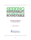 Seeking Sustainability