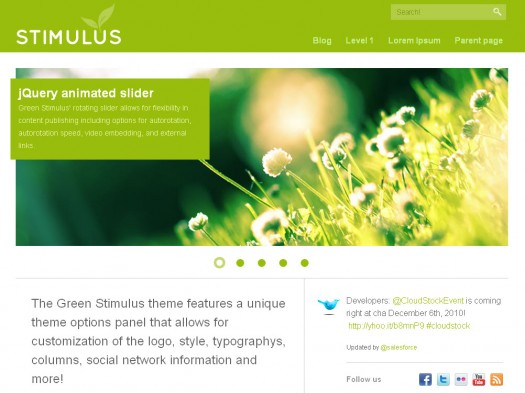 green-stimulus-wordpress-theme