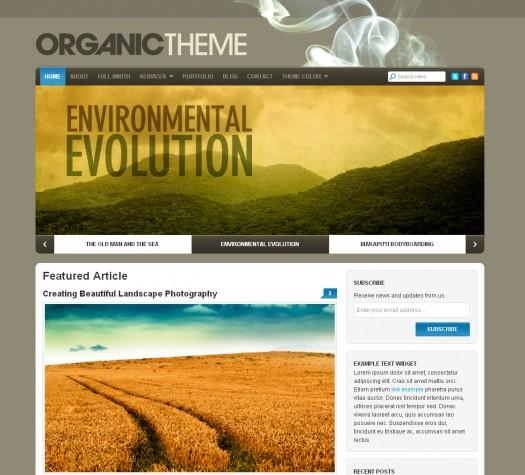 the-organic-theme