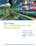 2011 NTEN Community Survey Report
