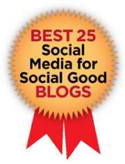 Socialbrite named one of Best 25 Social Media for Social Good Blogs