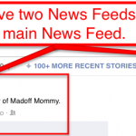 Ticker and News feed