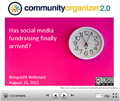 What social fundraising means