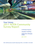 Your Voices 2011 NTEN Community Survey Report