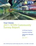 Your Voices 2011 NTEN Community Survey Report