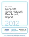 2012 Nonprofit Social Networking Benchmark Report