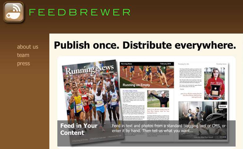 Feedbrewer publishing