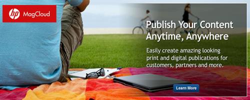 Magcloud publish
