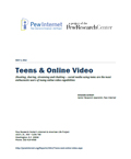 Teens Online Video