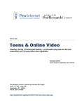 Teens Online Video