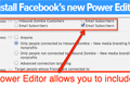 Facebooks new Power Editor