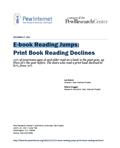 E-book Reading Jumps