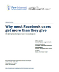 Facebook users get more