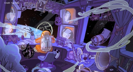 First_Artist_In_Space by Yao Xiao SLIDE