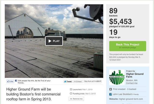 Kickstarter - RoofGarden