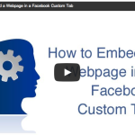 How to embed a Web page in a Facebook custom tab