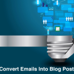 How to turn email content into blog posts