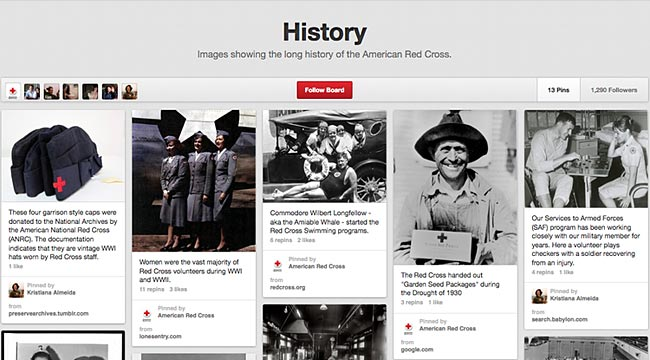 RedCross-Pinterest