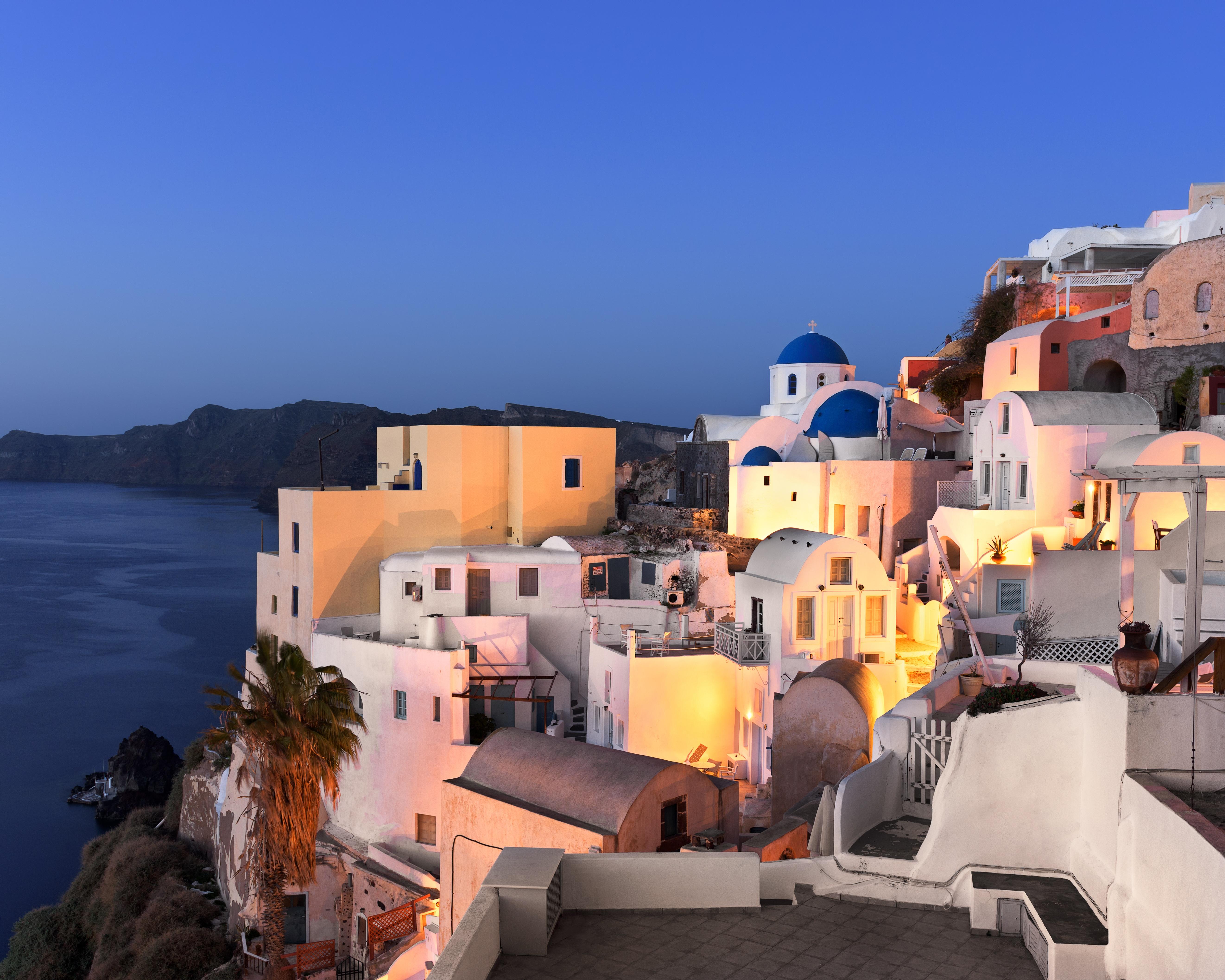 Santorini, Greece/ Courtesy of Shutterstock
